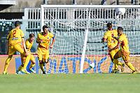 Manuel Iori esulta per il gol dello 0-1 Cittadella<br /> Campionato di calcio Serie BKT 2019/2020<br /> Livorno - Cittadella<br /> Stadio Armando Picchi 20/06/2020<br /> Foto Andrea Masini/Insidefoto
