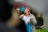 Monday 05 June 2017<br /> Pictured: Swansea East MP Carolyn Harris<br /> Re: A vigil has been held in Swansea City Centre to remember the victims of the recent terror attack in London. Stand up to Racism Swansea have organised the event alongside Swansea Coalition Against War and Swansea People's Assembly.