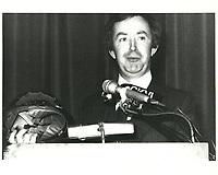 Joe Clark<br /> , le 2 mars 1979<br /> <br /> <br /> PHOTO : agence quebec presse
