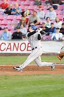 July 8, 2009: Tri-City Dust Devils' Joseph Sanders at-bat during a Northwest League game against the Salem-Keizer Volcanoes at Volcanoes Stadium in Salem, Oregon.