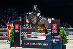 Reed Kessler of the USA riding KS Stakki  competes in the Masters One DBS during the Longines Masters of Hong Kong at AsiaWorld-Expo on 11 February 2018, in Hong Kong, Hong Kong. Photo by Diego Gonzalez / Power Sport Images