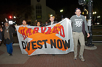 Launch of Harvard Heat Week calling on Harvard University to divest from Fossil Fuels at First Parish Church Cambridge MA