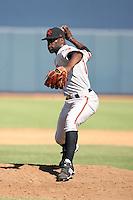 Wynn Pelzer - Scottsdale Scorpions - 2010 Arizona Fall League.Photo by:  Bill Mitchell/Four Seam Images..