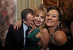 WALTER GALLENI CON CAMILLA MORABITO E SILVANA RATTI<br /> FESTA DEGLI 80 ANNI DI MARTA MARZOTTO<br /> CASA CARRARO ROMA 2011