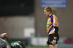 Referee Andrew McMenemy.RaboDirect Pro12.Cardiff Blues v Connacht.Cardiff Arms Park..10.02.12.©Steve Pope