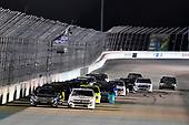 #51: Christian Eckes, Kyle Busch Motorsports, Toyota Tundra SiriusXM and #45: Ross Chastain, Niece Motorsports, Chevrolet Silverado TruNorth/Paul Jr. Designs