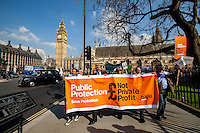 """01.04.2014 - """"Afternoon Tea with Chris Grayling"""" - Save Probation & Legal Aid Demo"""