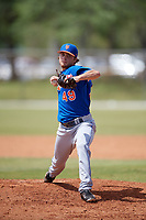 New York Mets Pitcher Matt Blackham (49) during a minor league Spring Training game against the Miami Marlins on March 26, 2017 at the Roger Dean Stadium Complex in Jupiter, Florida.  (Mike Janes/Four Seam Images)