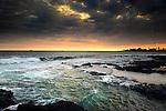 Tide coming in, Kona, Hawaii