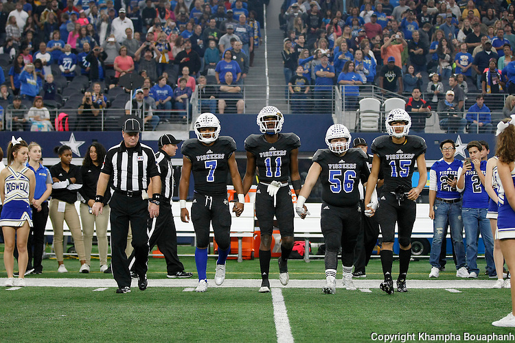 Boswell plays Birdville in bi-district high school playoff football at AT&T Stadium in Arlington on Saturday, November 14, 2015.