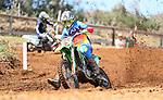 Bradley Hamburger, 12-14 years 250cc. New Zealand Motocross Age Group Nationals, TECT All Terrain Park, Bay of Plenty, Sunday 7 February 2021. Photo: Simon Watts/www.bwmedia.co.nz
