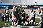 DENTON, TX  JANUARY 1:  Antoinne Jimmerson #22 of the North Texas Mean Green runs in for the touchdown against the UNLV Rebels during the Heart of Dallas Bowl at Cotton Bowl Stadium in Dallas on January 1, 2014 in Dallas, TX.  Photo by Rick Yeatts North Texas won 36-14 over UNLV.