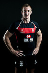 Alex McQueen poses during the Hong Kong 7's Squads Portraits on 5 March 2012 at theKing's Park Sport Ground in Hong Kong. Photo by Andy Jones / The Power of Sport Images for HKRFU