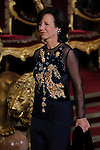 Spanish Royals attend a Gala Dinner in honour of President of Chile Michelle Bachelet at The Royal Palace in Madrid. In the pic Ana Patricia Botin. October 29, 2014. (Jose Luis Cuesta/POOL/ALTERPHOTOS)