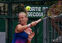 Paris, France, 22 June, 2016, Tennis, Roland Garros, Kiki Bertens (NED)<br /> Photo: Henk Koster/tennisimages.com