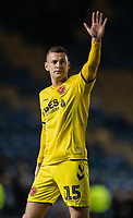 Fleetwood Town's Paul Coutts applauds the fans at the final whistle <br /> <br /> Photographer David Horton/CameraSport<br /> <br /> The EFL Sky Bet League One - Portsmouth v Fleetwood Town - Tuesday 10th March 2020 - Fratton Park - Portsmouth<br /> <br /> World Copyright © 2020 CameraSport. All rights reserved. 43 Linden Ave. Countesthorpe. Leicester. England. LE8 5PG - Tel: +44 (0) 116 277 4147 - admin@camerasport.com - www.camerasport.com