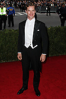 """NEW YORK CITY, NY, USA - MAY 05: Benedict Cumberbatch at the """"Charles James: Beyond Fashion"""" Costume Institute Gala held at the Metropolitan Museum of Art on May 5, 2014 in New York City, New York, United States. (Photo by Xavier Collin/Celebrity Monitor)"""