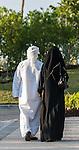Local couple in Dubai, United Arab Emirates