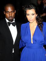 NEW YORK, NY - OCTOBER 22: Kanye West and Kim Kardashian at Angel Ball 2012 at Cipriani Wall Street in New York City. October 22, 2012. Credit: RW/MediaPunch Inc.