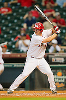Casey Grayson #43 of the Houston Cougars at bat against the Tennessee Volunteers at Minute Maid Park on March 2, 2012 in Houston, Texas.  The Cougars defeated the Volunteers 7-4.  (Brian Westerholt/Four Seam Images)