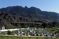 Friedhof in Cha de Morte, Santo Antao, Kapverden, Afrika