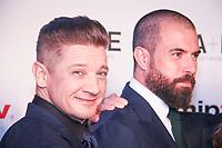 Jeremy Renner et Tom Cullen - RED CARPET POUR L'OUVERTURE DU MIPTV 2017 A L'HOTEL MARTINEZ - CANNES, FRANCE - LUNDI 3 AVRIL 2017.