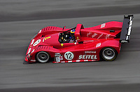 The #12  Risi Competizione Ferrari of David Brabham..39th Rolex 24 at Daytona, 3/4 February,2001 Daytona International Speedway  Daytona Beach,Florida,USA.©F.Peirce Williams 2001 ..