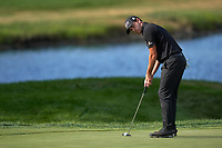 29th August 2020, Olympia Fields, Illinois, USA;  Patrick Cantlay of the United States prepares to putt on the 18th green during the third round of the BMW Championship on the North Course at Olympia Fields Country Club