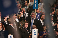 March 17,  2013 File Photo -Philippe Couillard and supporters at the  Liberal Party of Quebec's leadership convention. Couillard was elected as new leader.