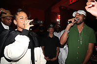 NEW YORK, NY- SEPTEMBER 12: Alicia Keys and Baby Cham pictured at Swizz Beatz Surprise Birthday Party at Little Sister in New York City on September 12, 2021. <br /> CAP/MPI/WG<br /> ©WG/MPI/Capital Pictures