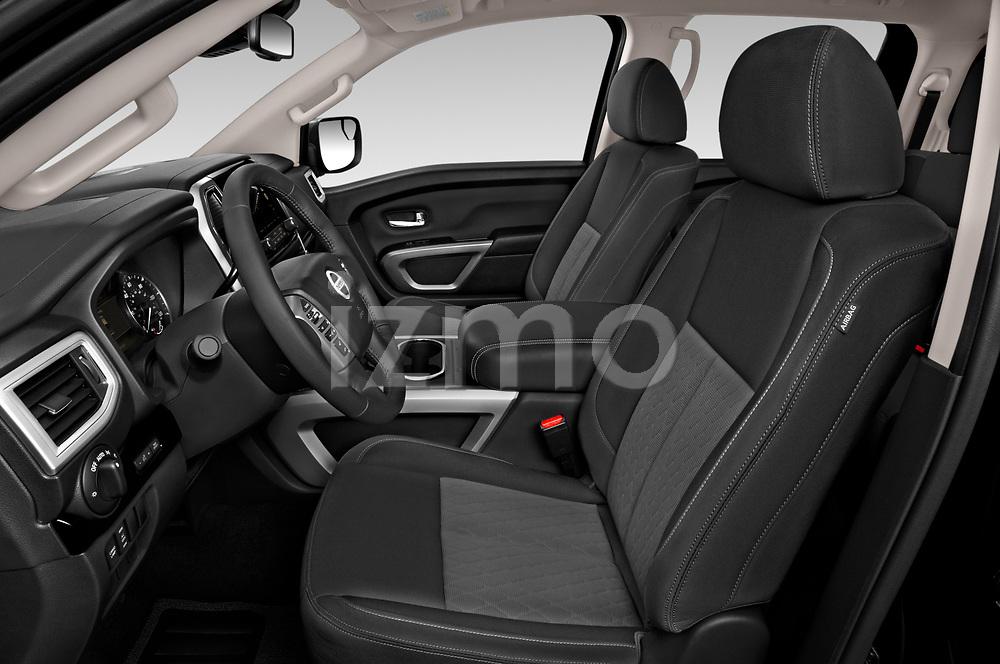 Front seat view of 2020 Nissan Titan SV 4 Door Pick-up Front Seat  car photos