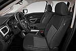 Front seat view of 2020 Nissan Titan SV 4 Door Pick-up Front Seat  car photos