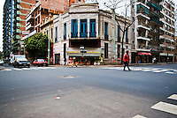 Building in Palermo, the italian area of Buenos Aires, Argentina