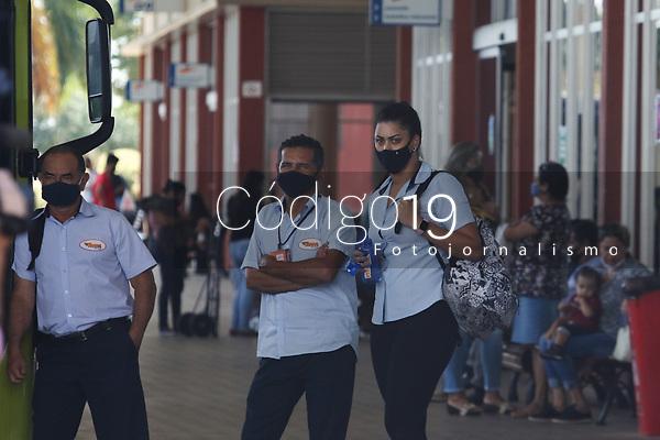 Campinas (SP), 28/04/2021 - Paralisação-SP - Paralisação do transporte coletivo em Paulínia, nesta quarta-feira (28).