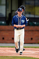 Mobile BayBears manager Andy Green before a game against the Pensacola Blue Wahoos on April 14, 2013 at Hank Aaron Stadium in Mobile, Alabama.  Mobile defeated Pensacola 5-2.  (Mike Janes/Four Seam Images)