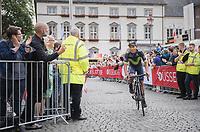 "Nairo Quintana (COL/Movistar)<br /> <br /> ""Le Grand Départ"" <br /> 104th Tour de France 2017 <br /> Team Presentation in Düsseldorf/Germany"