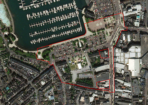 Queen's Parade regeneration map