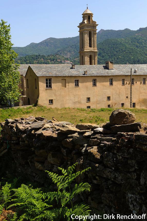 Kloster von Alesani in der Castaniccia, Korsika, Frankreich