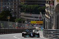 23rd May 2021; Principality of Monaco; F1 Grand Prix of Monaco,   Race Day;  Lewis Hamilton GBR 44 , Mercedes AMG Petronas Formula One Team