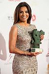Eva Longoria receive award during the Global Gift Gala at Cibeles Palace in Madrid. April 02, 2016. (ALTERPHOTOS/Borja B.Hojas)