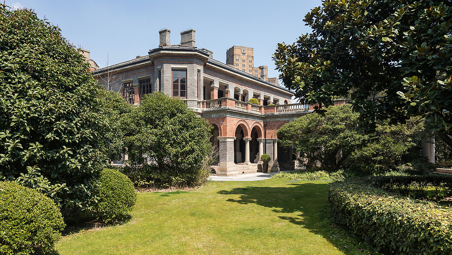 The British Consul-General's Residence.