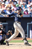 Adrian Gonzalez. San Diego Padres spring training game vs. Seattle Mariners at Peoria Stadium, Peoria, AZ - 03/04/2010.Photo by:  Bill Mitchell/Four Seam Images.