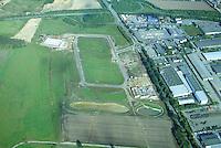 Deeutschland, Schleswig- Holstein, Glinde, Möllner Landstraße, Gewerbegebiet nördlich der Kaserne