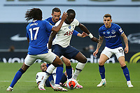 Moussa Sissoko of Tottenham Hotspur and Alex Iwobi of Everton during Tottenham Hotspur vs Everton, Premier League Football at Tottenham Hotspur Stadium on 6th July 2020