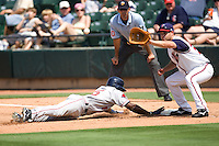 Gall, John 1072 (Andrew Woolley).jpg. Pacific Coast League Oklahoma City RedHawks against the Round Rock Express at Dell Diamond on May 10th 2009 in Round Rock, Texas. Photo by Andrew Woolley.