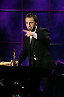 Montreal (Qc) CANADA - 2006 File Photo<br /> Louis -Josee Houde - Gala des Oliviers 2006<br /> photo : (c) by JP Proulx - Images Distribution
