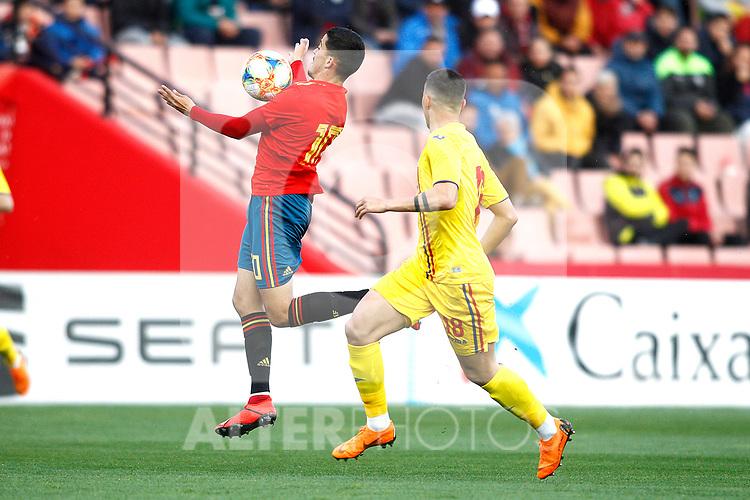 -ñ10-   during the International Friendly match on 21th March, 2019 in Granada, Spain. (ALTERPHOTOS/Alconada)