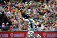 NZ's Neil Wanger walks from the pitch after his innings of 66 not out during day two of the second International Test Cricket match between the New Zealand Black Caps and West Indies at the Basin Reserve in Wellington, New Zealand on Friday, 11 December 2020. Photo: Dave Lintott / lintottphoto.co.nz