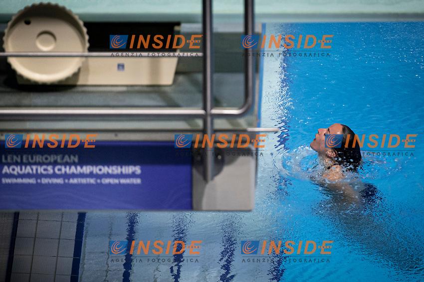 Cryan Clare IRL<br /> Diving - Women's 3m preliminary<br /> XXXV LEN European Aquatic Championships<br /> Duna Arena<br /> Budapest  - Hungary  15/5/2021<br /> Photo Giorgio Perottino / Deepbluemedia / Insidefoto