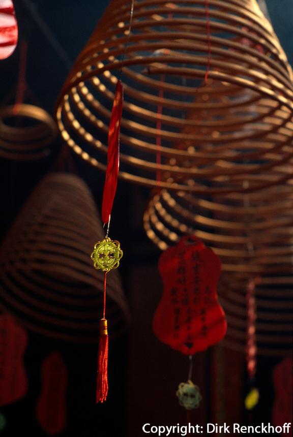 Tin Hau Tempel in Hongkong-Yau Ma Tei, China